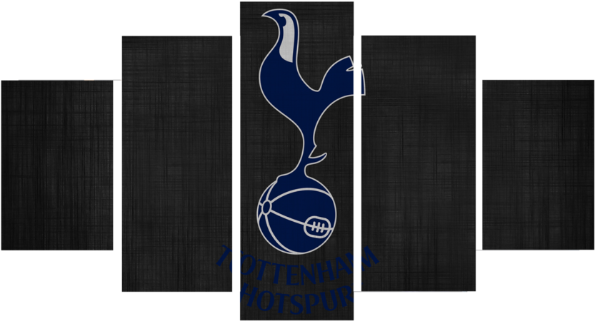 Download Hd Printed Tottenham Hotspur Logo 5 Pieces Canvas 5 Piece Wall Art Milky Way Png Image With No Background Pngkey Com