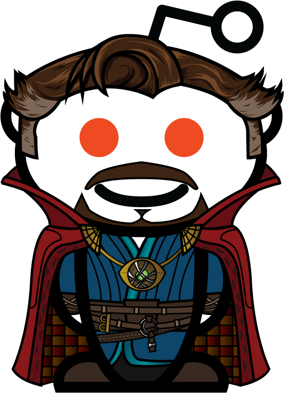 Download I Made A Doctor Strange Snoo For You Guys Hair Snoo Reddit Png Image With No Background Pngkey Com