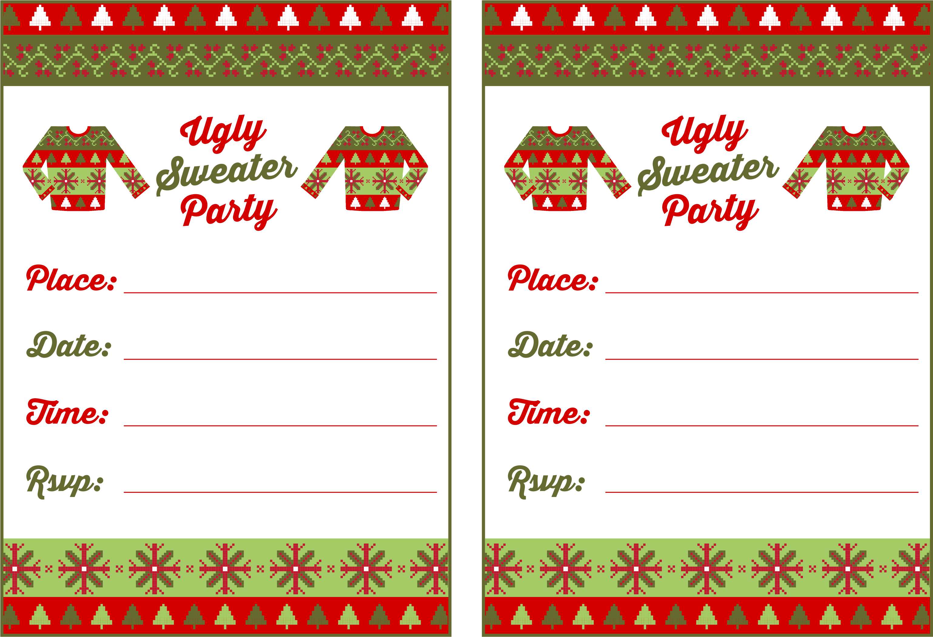 It's just a picture of Free Printable Christmas Invitations inside clipart