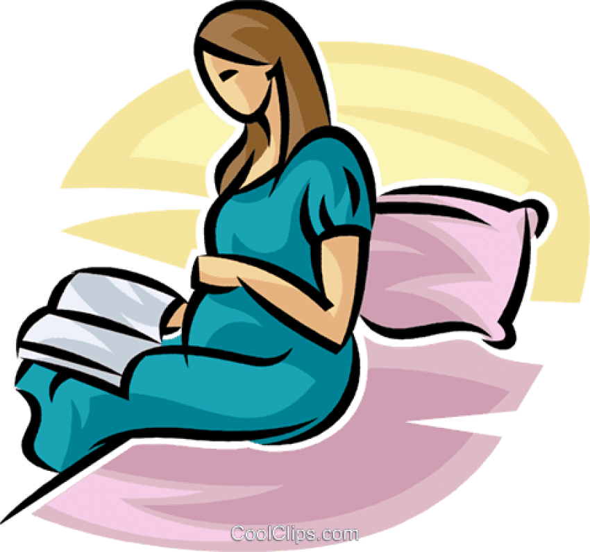 Download Pregnant Mother Reading A Book In Bed Royalty Free Pregnancy Png Image With No Background Pngkey Com