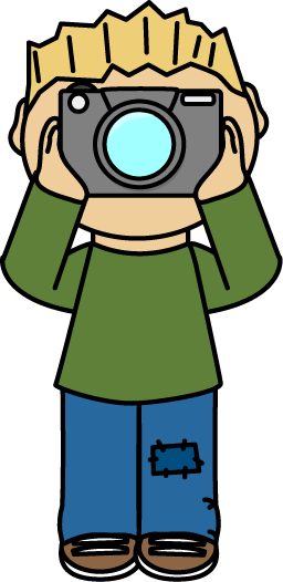 Download Boy Photographer Free Clip Art From Mycutegraphics