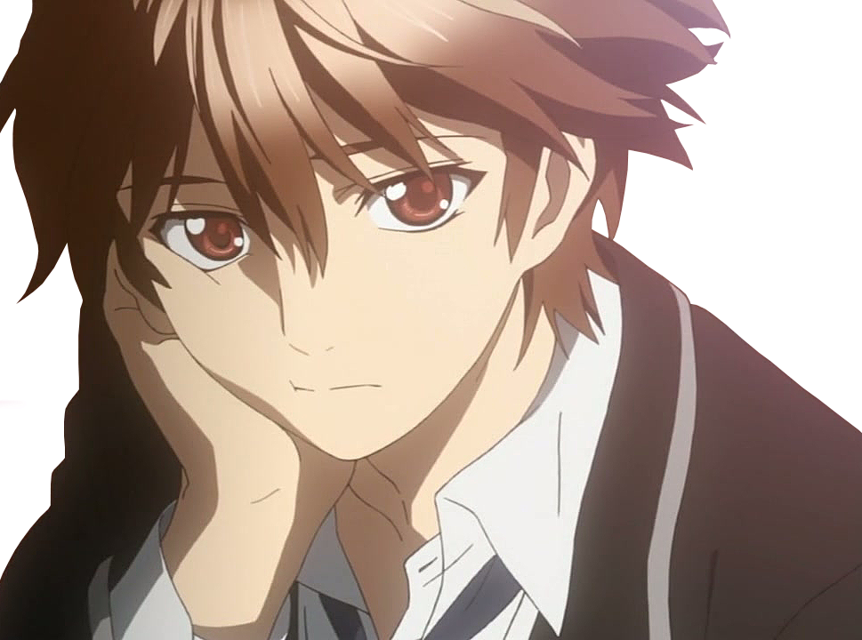 Download Anime Brown Hair Cute Anime Boy I Love Anime Guys Inori Guilty Crown Shu Png Image With No Background Pngkey Com