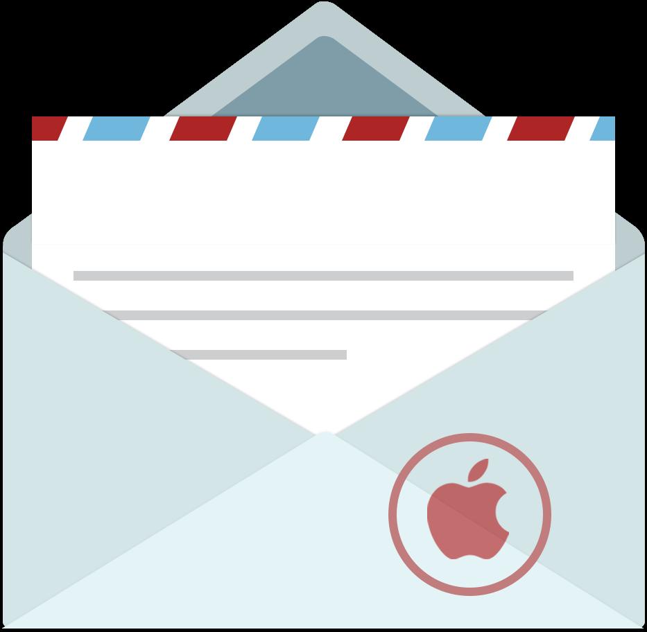Download Download Png Ico Icns Kotak Surat Kartun Png Image With