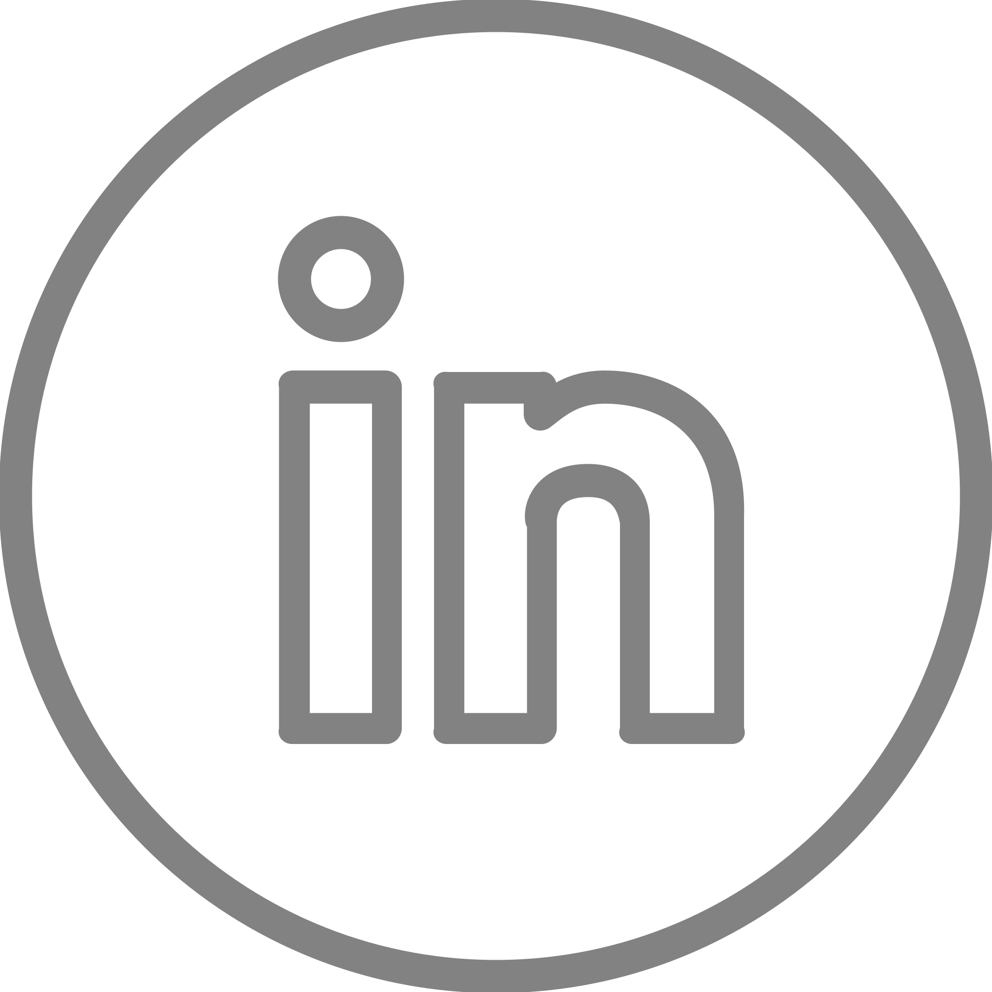 Download Linkedin Logo White Circle Transparent Png Linkedin