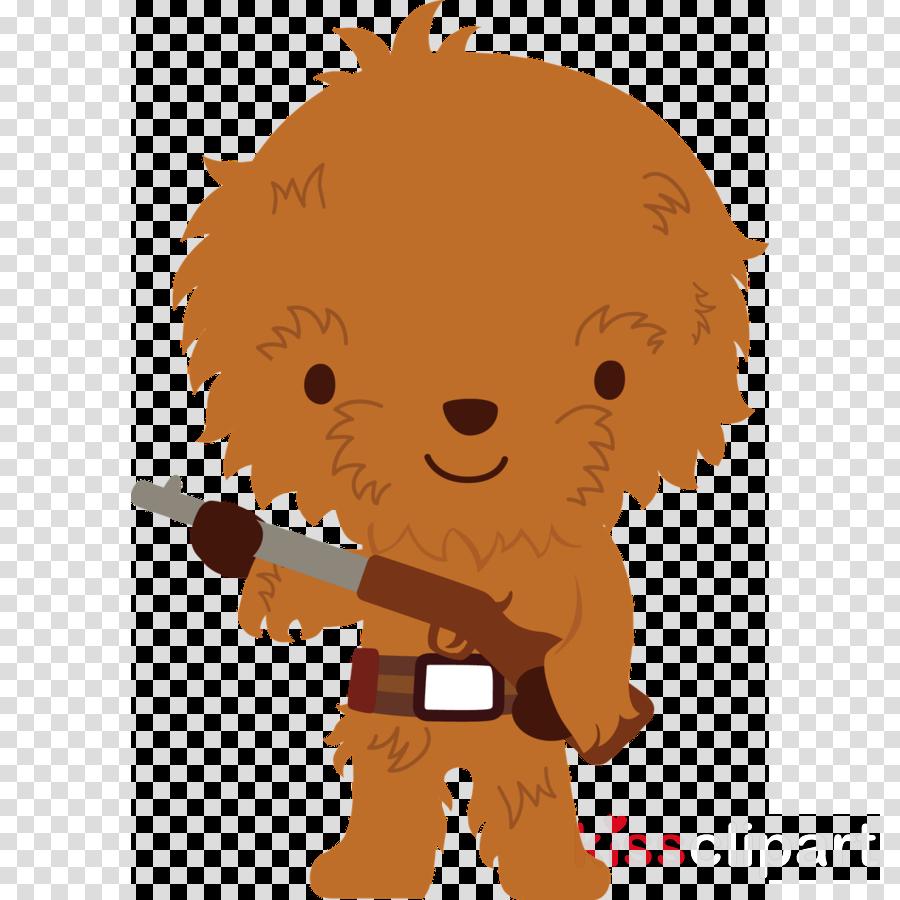 Download Star Wars Cute Png Clipart Chewbacca Leia Organa Yoda