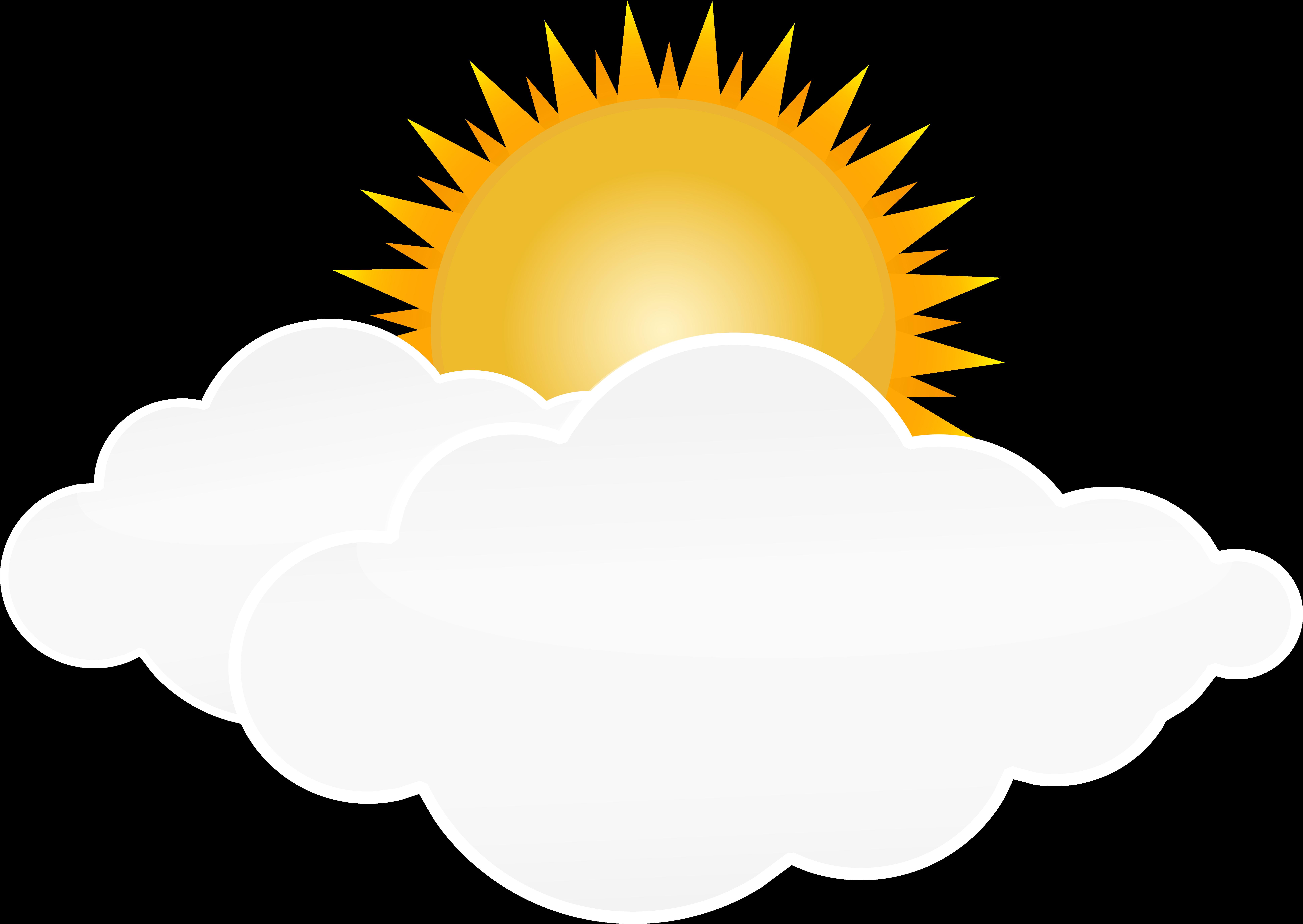 солнышко облака картинки на прозрачном фоне