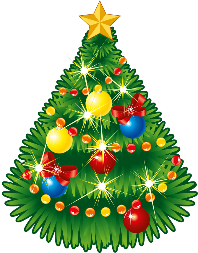 Download Transparent Christmas Tree With Star Png Clipart Sapin De Noel Boules Guirlandes Png Image With No Background Pngkey Com