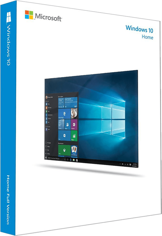 Windows 10 Home Edition - Windows 10 Home 64 (750x900), Png Download