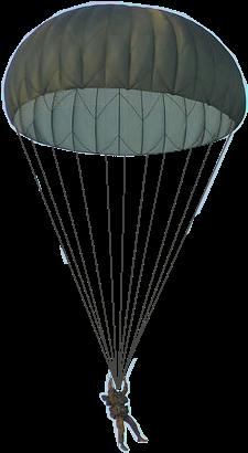 Parachute Png - Parachute Gifs Transparent Background (379x514), Png Download