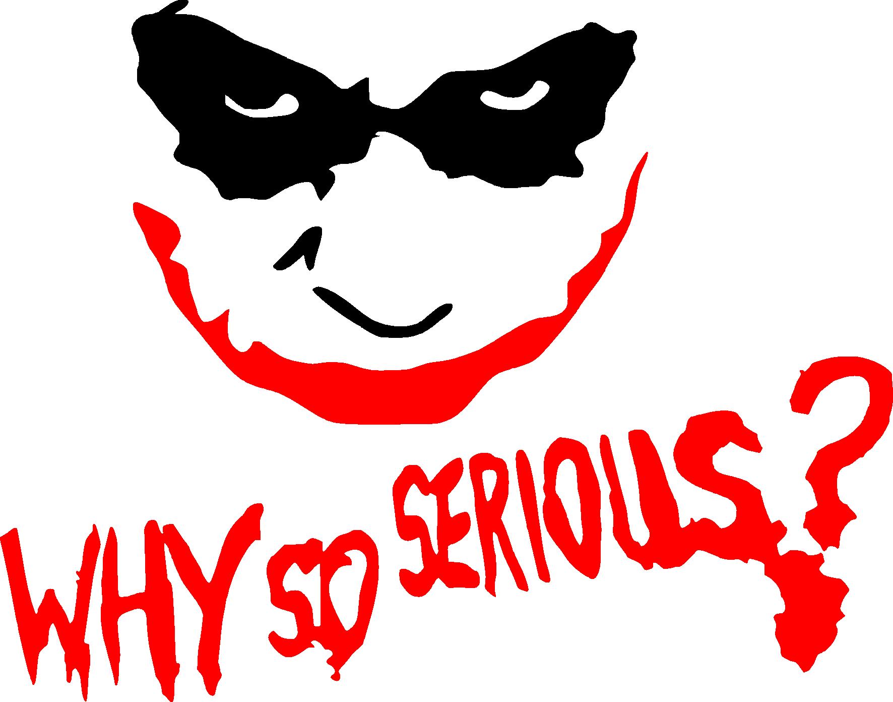 Why So Serious Joker Font