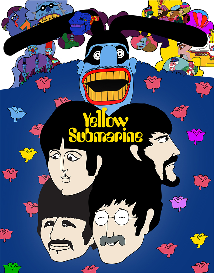 Download Double Tap To Zoom Yellow Submarine A Panorama Pop