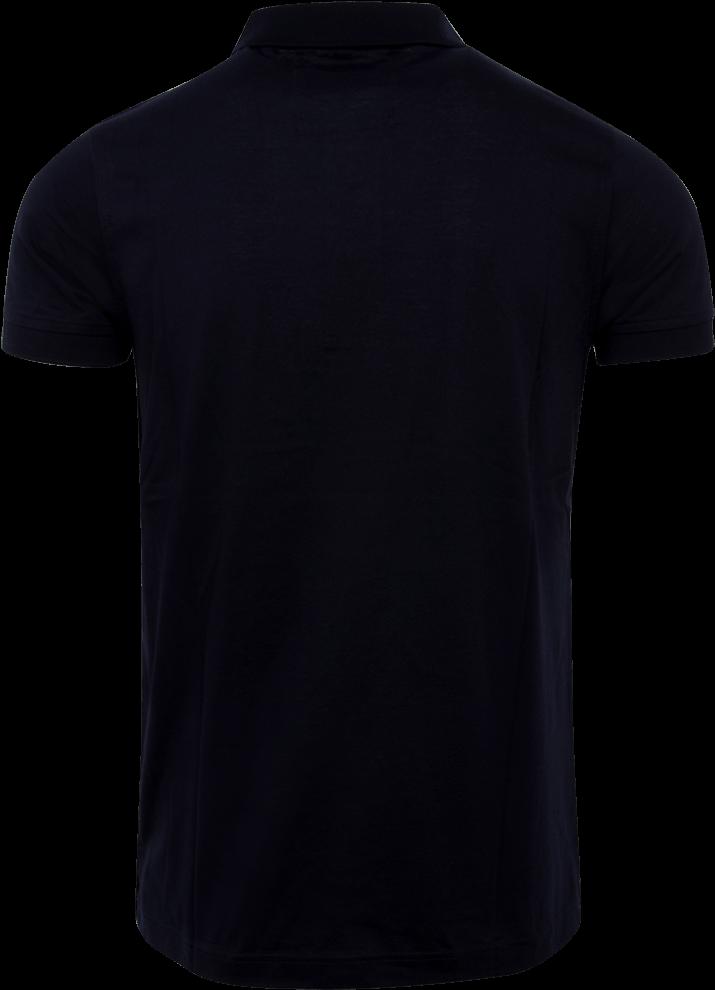 black t shirt back png