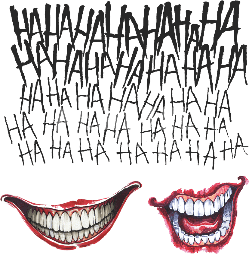 Download Joker Tattoo Kit Suicide Squad Joker Tattoo Kit Png Image With No Background Pngkey Com