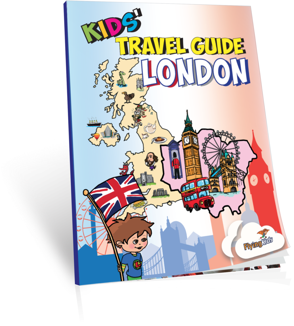 Kids' Travel Guide - Kids' Travel Guide - London: The Fun Way (1060x1178), Png Download
