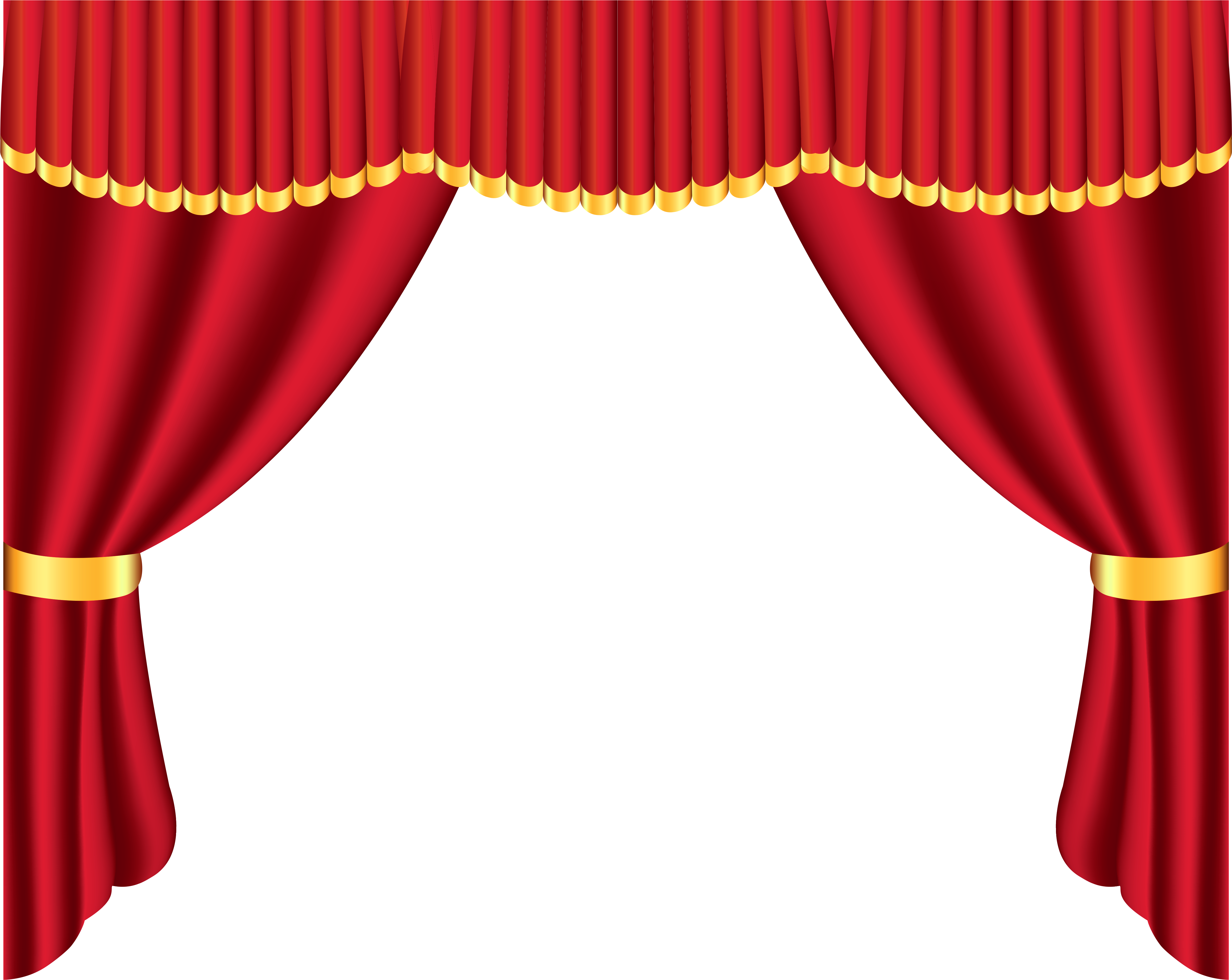 Download Cute Curtains Red Curtains Bedroom Curtains Puppet Stage With Curtains Clipart Png Image With No Background Pngkey Com