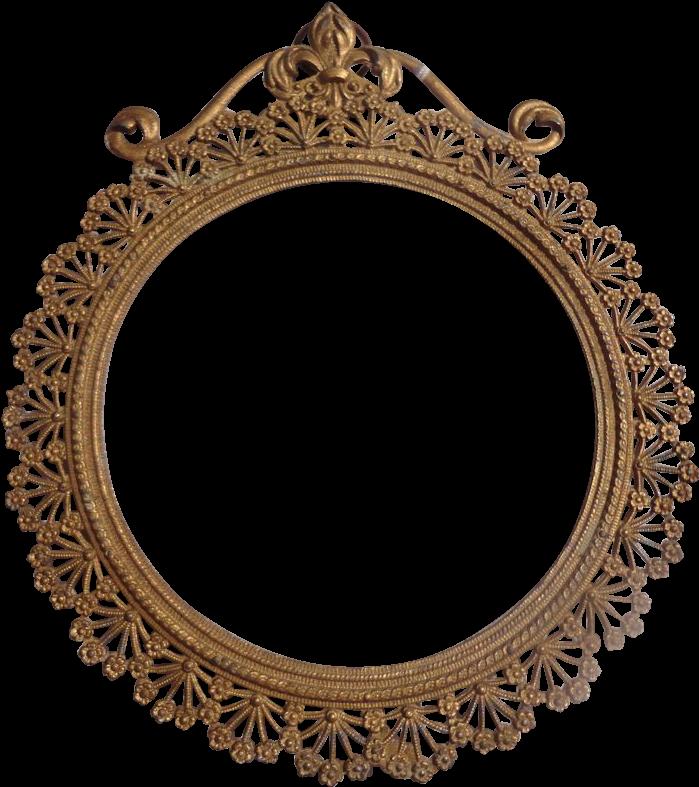 Download Fancy Oval Frame - Art Nouveau Circle Frames PNG ...
