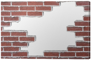 Broken Brick Wall (400x400), Png Download