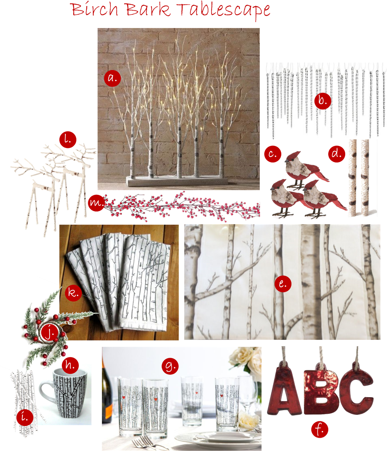 """See How Birch Bark Dresses Up A Holiday Table - Raz Lighted Birch Tree Forest, 30"""" (1326x1600), Png Download"""