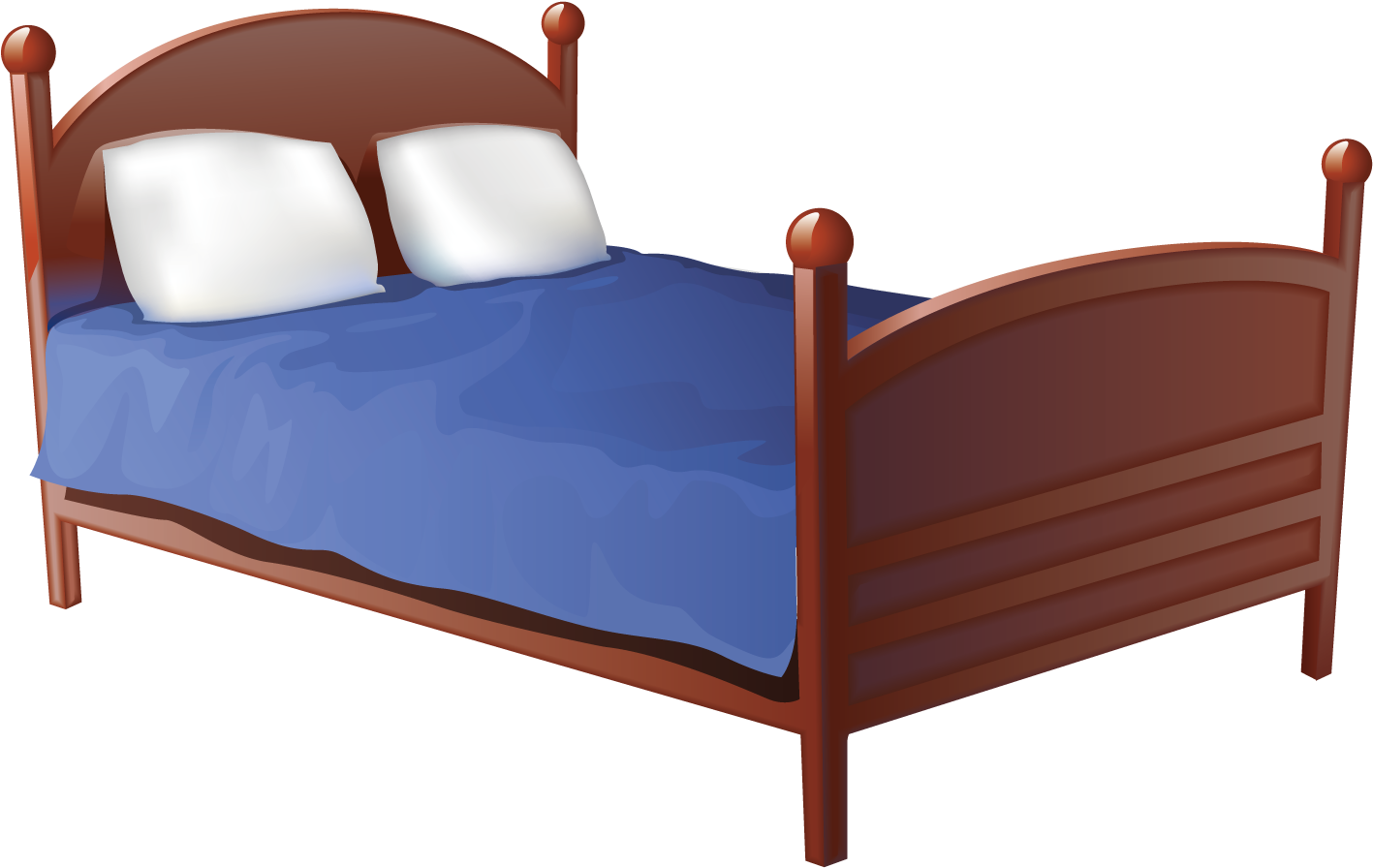 Download Bed Frame Old Fashioned Wooden Bed Frame Sizes In Garden Paw Patrol 5 Little Monkeys Jumping Png Image With No Background Pngkey Com