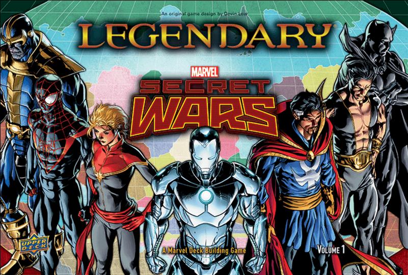 Secret Wars - Legendary Marvel Deck Building Game: Secret Wars Vol (800x800), Png Download