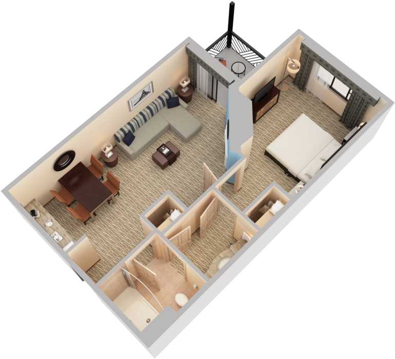 Download View 3d Floor Plans Array 3d Floor Plans Fireplace Png Image With No Background Pngkey Com