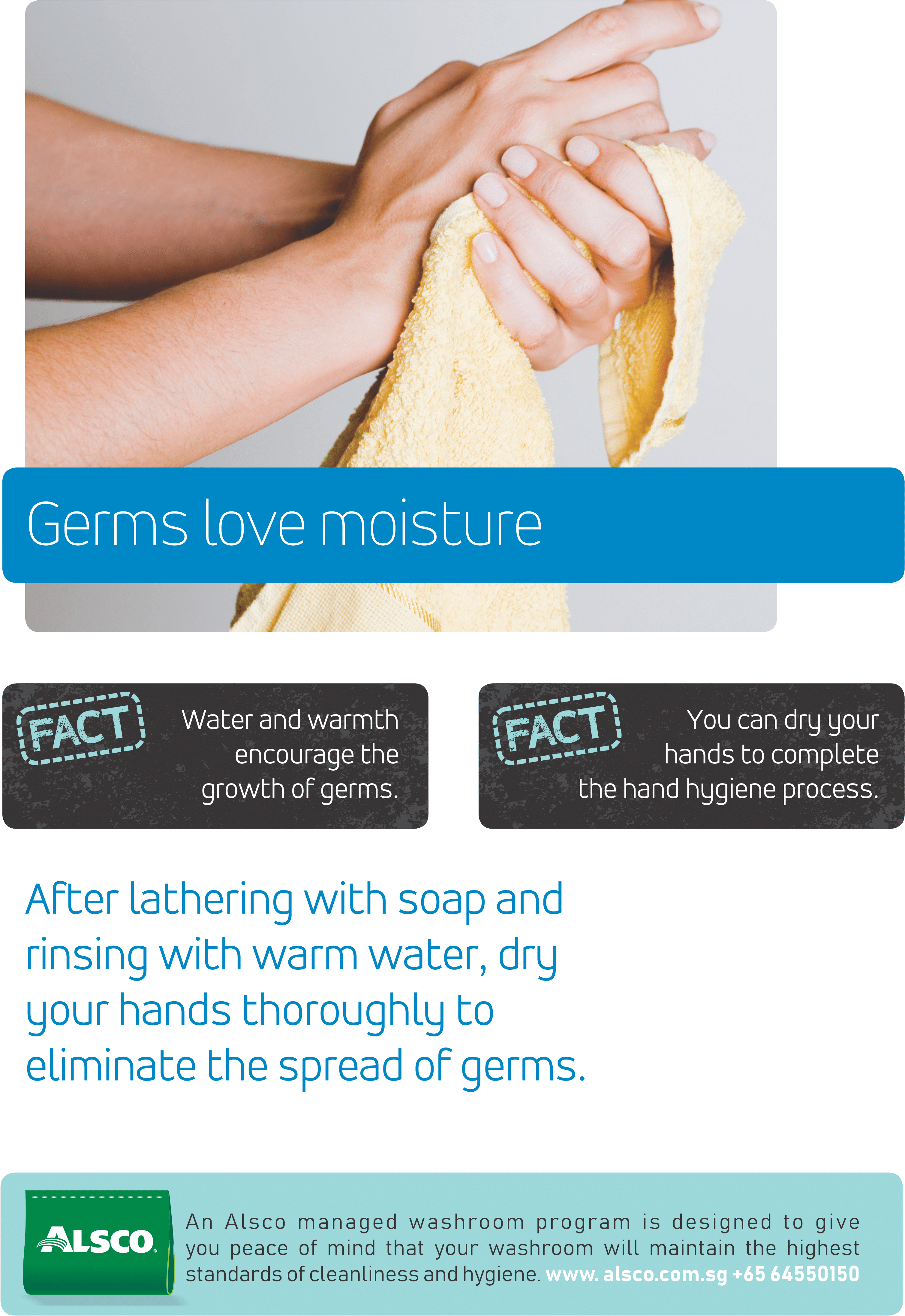 Download Alsco Hygiene Poster With A Woman Wiping Her Hands Png Image With No Background Pngkey Com Hand showing one fingers png clipart image. pngkey
