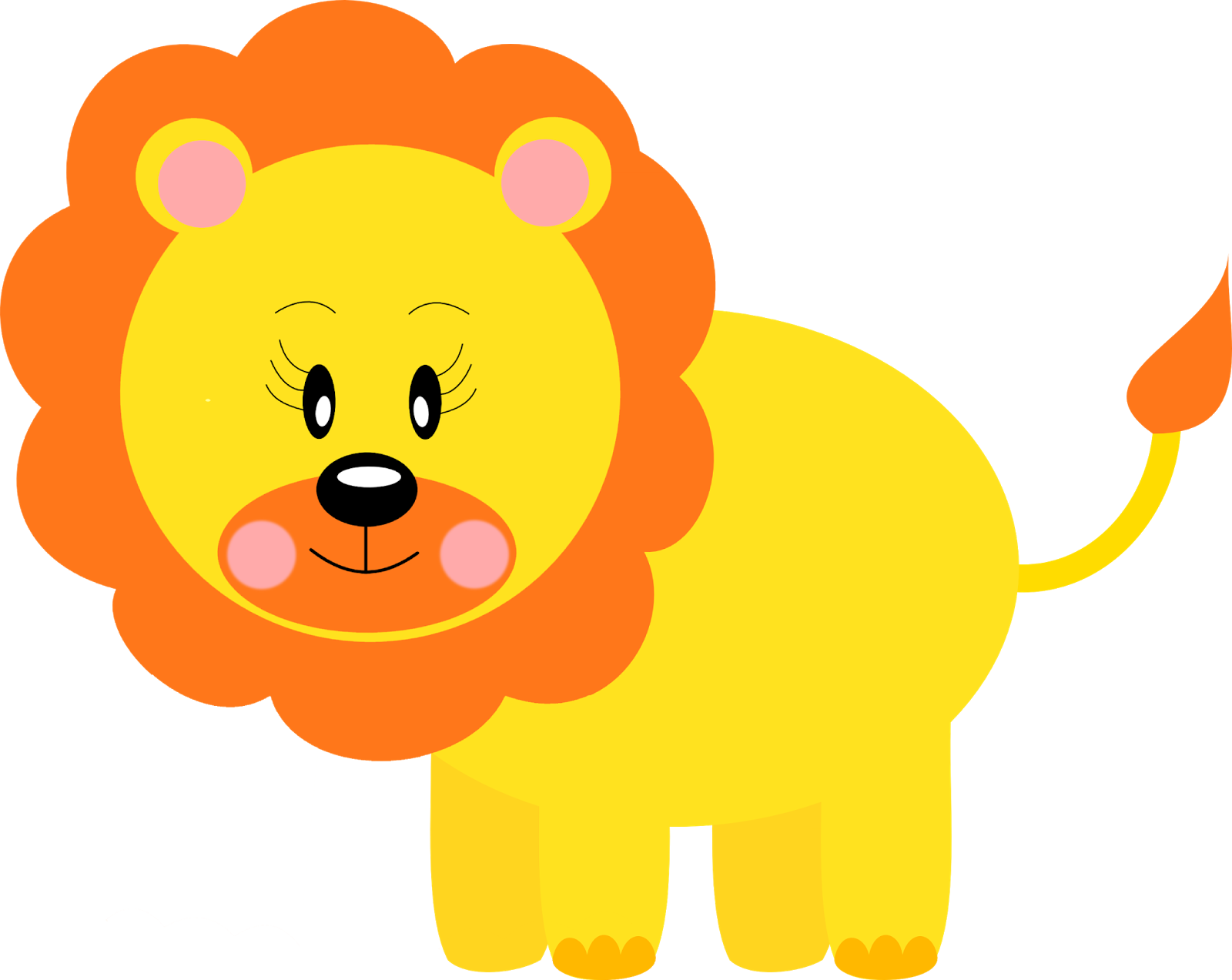 Download Png Free Free Printable Baby Jungle Animal Clipart Leao