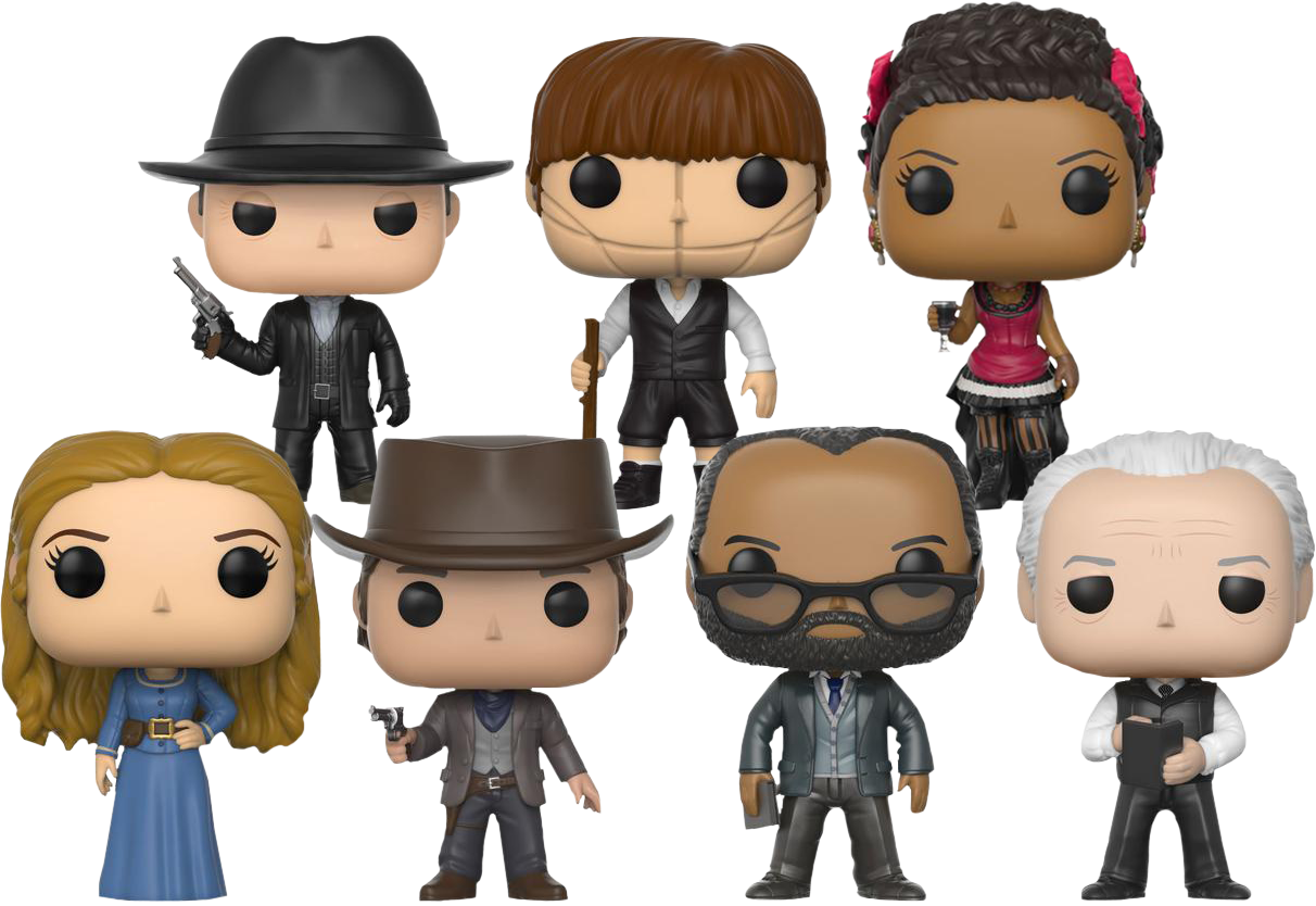 Download Guests & Hosts Pop Vinyl Figure Bundle - Funko Pop
