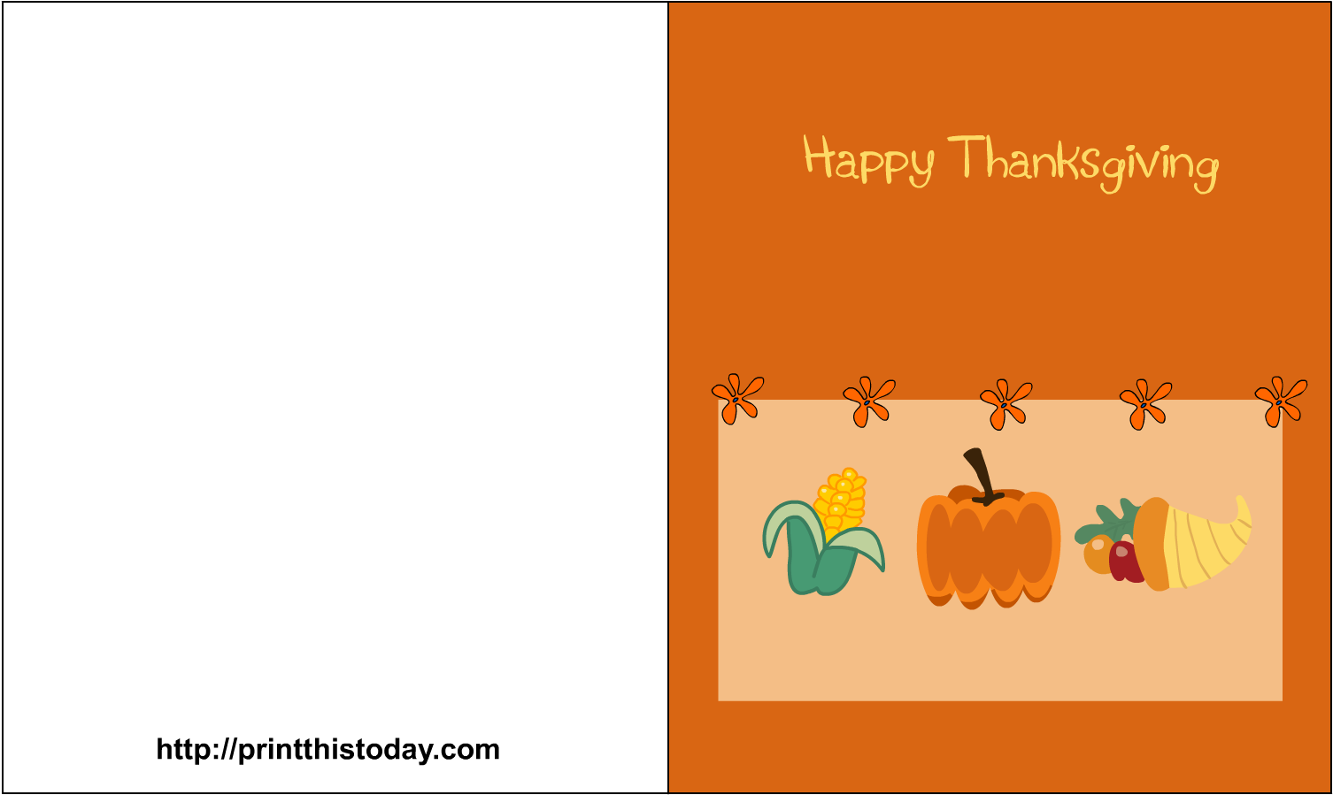 picture regarding Free Printable Thanksgiving Cards titled Obtain Top quality Printable Thanksgiving Be aware Playing cards 25 No cost