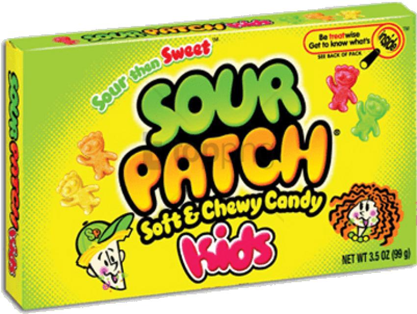 Sour Patch Kids - Sour Patch Kids Watermelon (400x320), Png Download