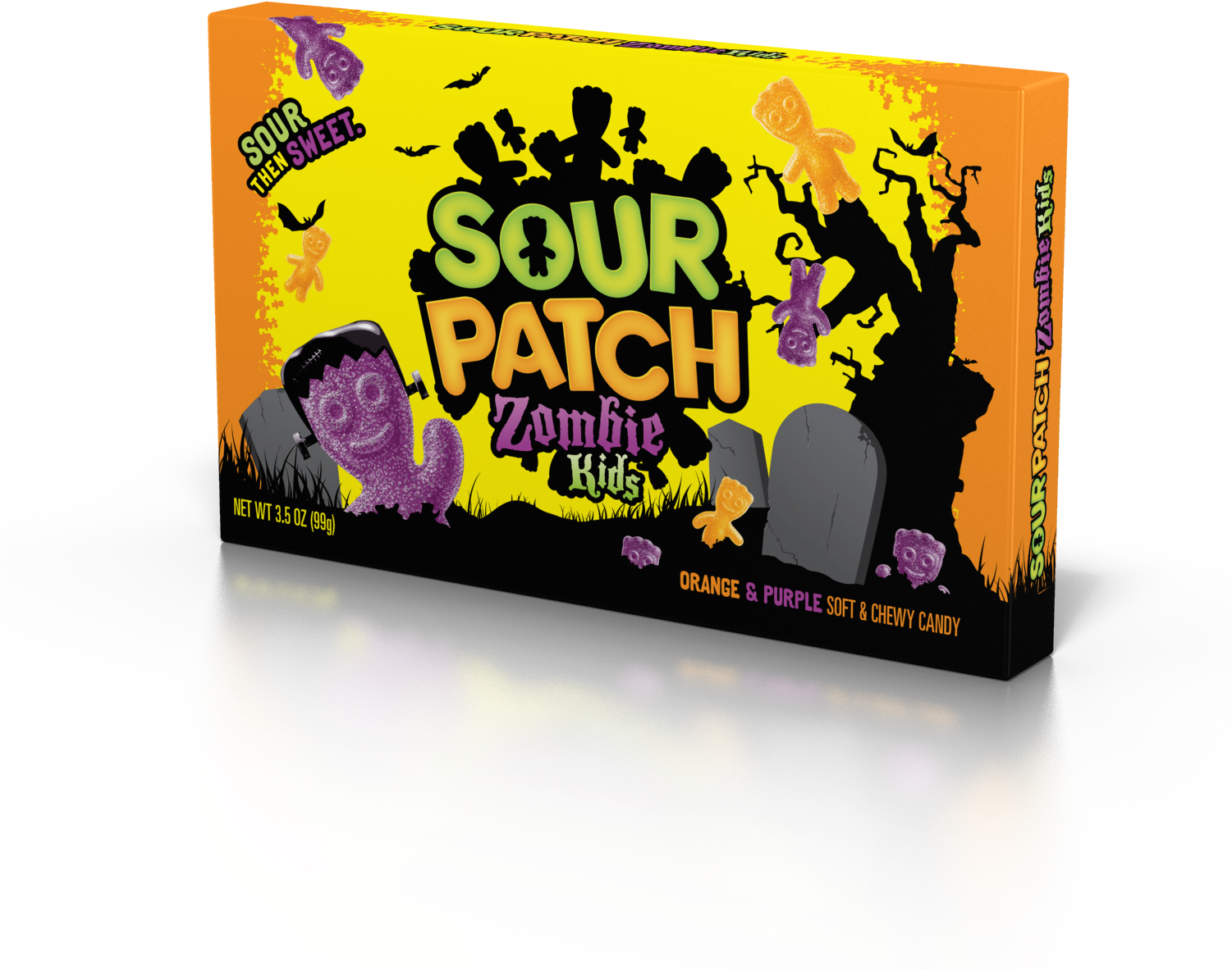 Sour Patch Kids, Zombie Kids Halloween Candy, - Sour Patch Kids (1500x1500), Png Download