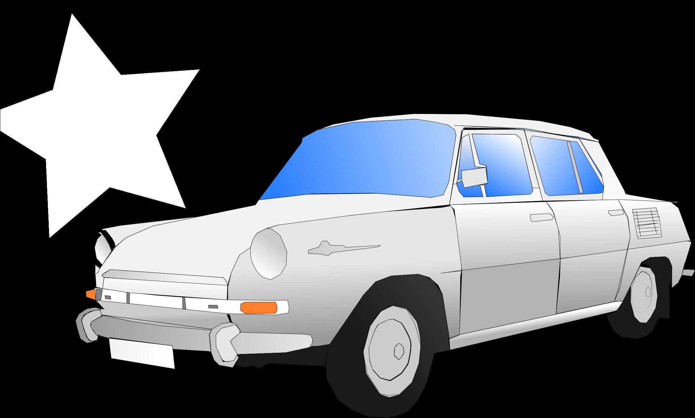 Big Image - Škoda 1000 Mb Png (2400x1557), Png Download