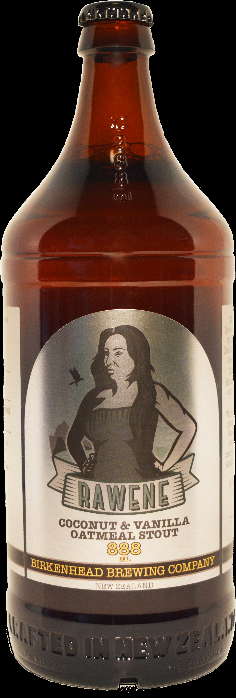 Rawene Coco & Van Oatmeal Stout - Birkenhead Brewing Company Rawene Stout (888ml) (2054x5472), Png Download