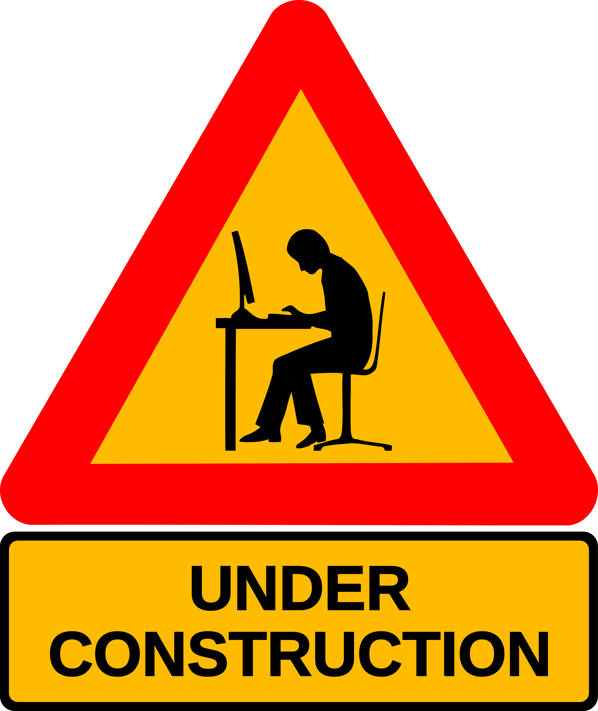 Download Under Construction Application - Men At Work Icon ...