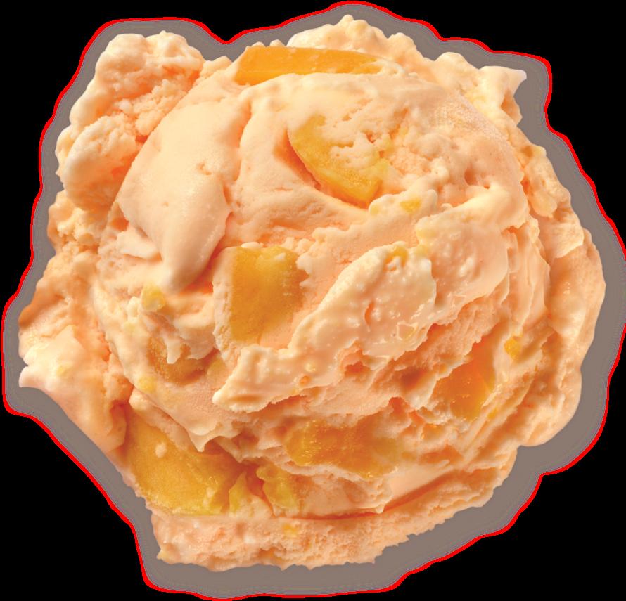 Peaches & Peaches Ice Cream Scoop