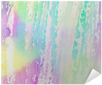 Abstract Light Colorful Watercolor Background Poster - Watercolor Painting (400x400), Png Download