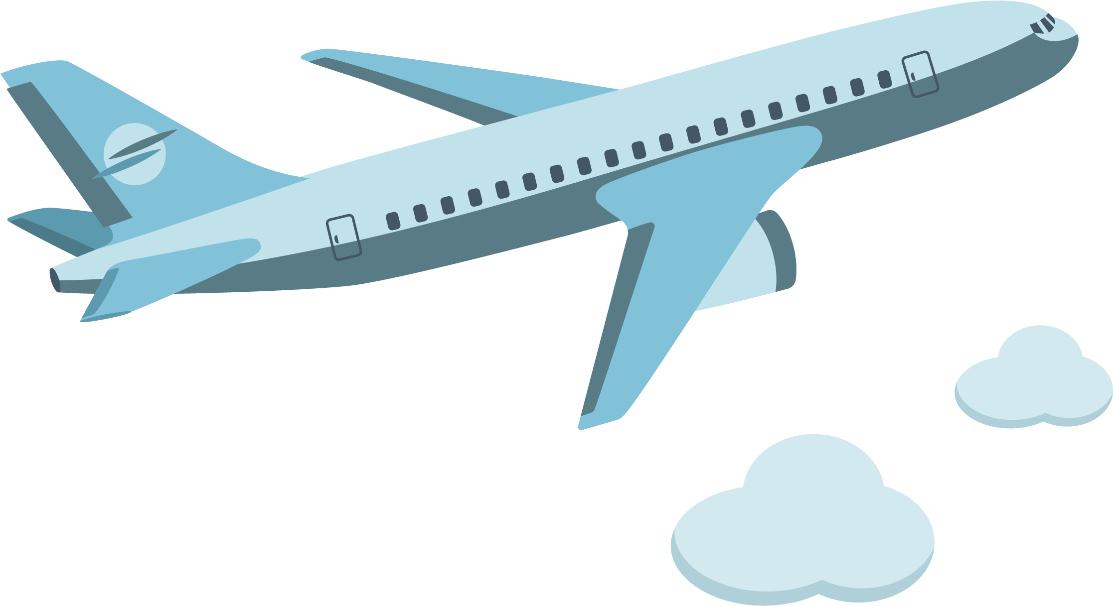 Download Airplane Aircraft Icon Vector Cartoon Plane Png Png