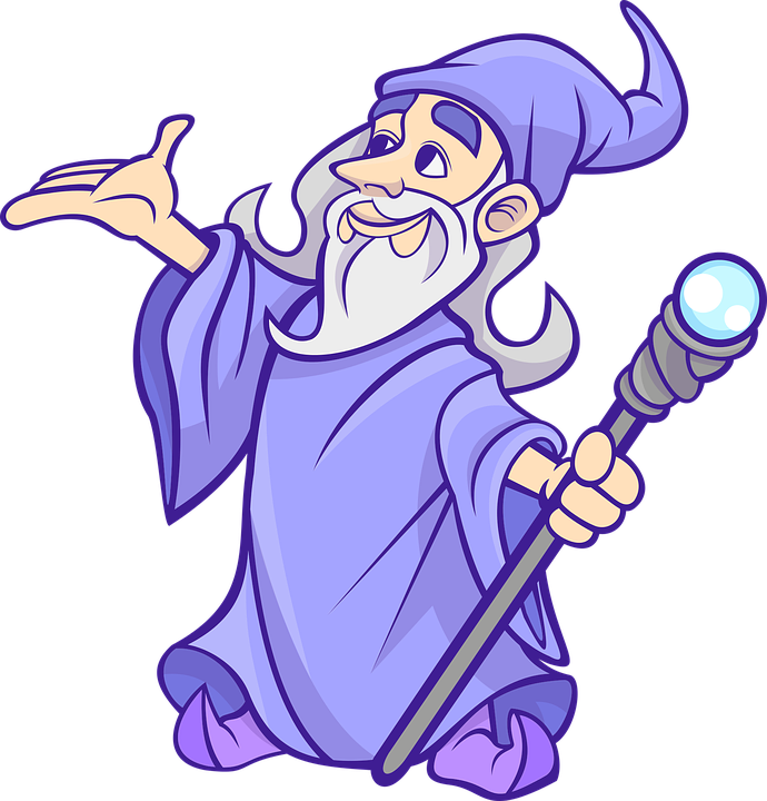 Wizard Png Free Download - Wizard Png (690x720), Png Download