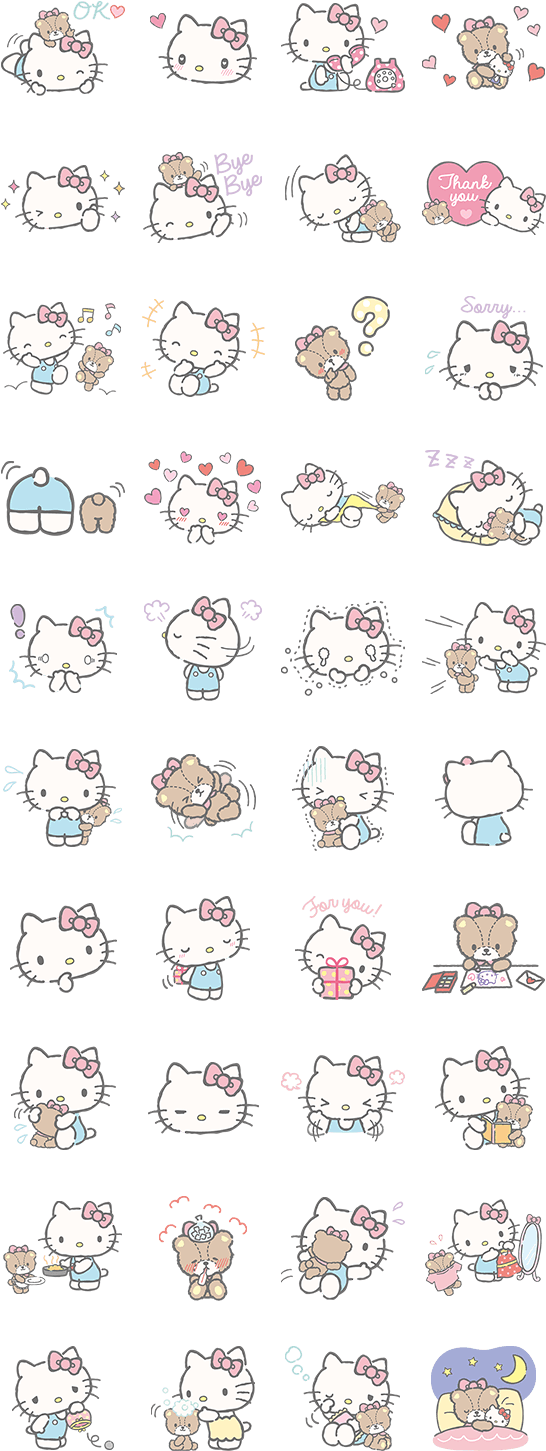 Download Hello Kitty Et Friends Wallpaper Hello Kitty