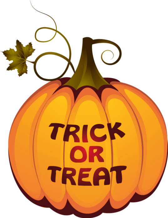 Free Halloween Fonts And Clip Art - Transparent Background Halloween Clipart Transparent (485x600), Png Download
