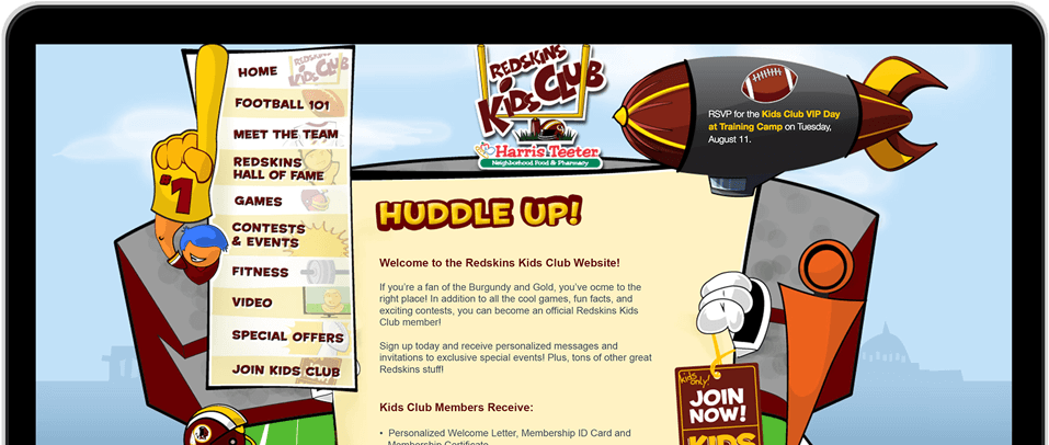 Download Redskins Kids Club Png Image With No Background Pngkey Com