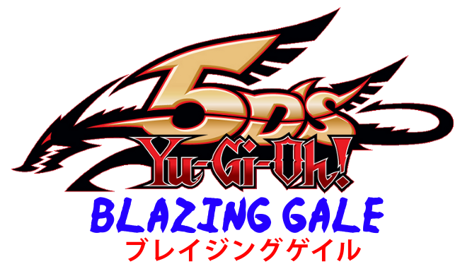 Yu Gi Oh 5ds Blazing Gale - Yu Gi Oh 5ds Logo Png (650x391), Png Download