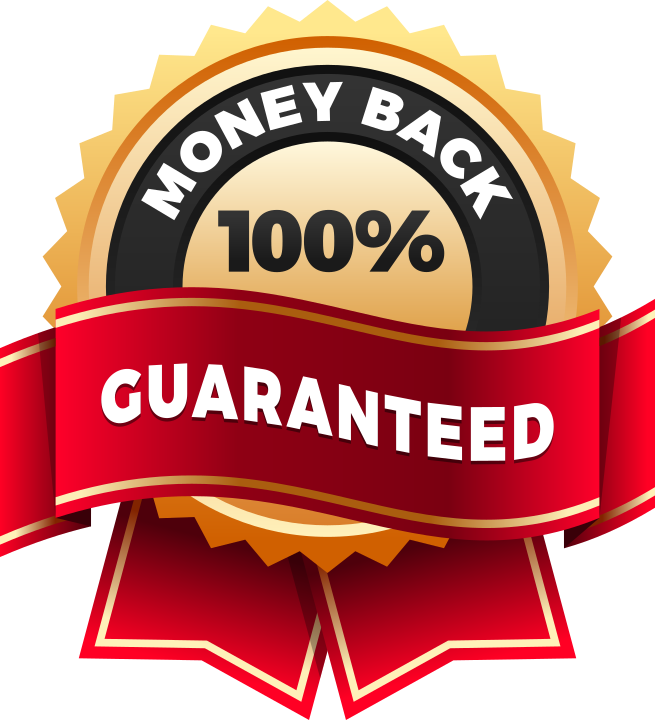 If You Follow All The Exercise And Nutrition Advice - Money Back Guarantee Logo (655x720), Png Download
