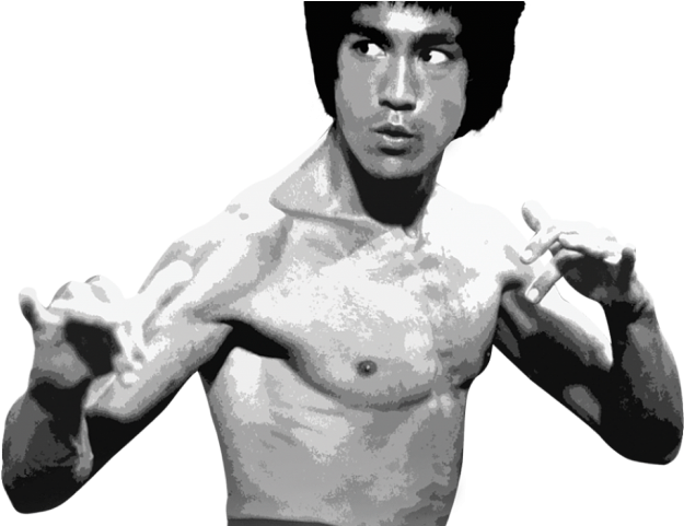 Bruce Lee Clipart Png - Deadliest Art: The Best Of The Martial Arts Films (dvd) (640x480), Png Download