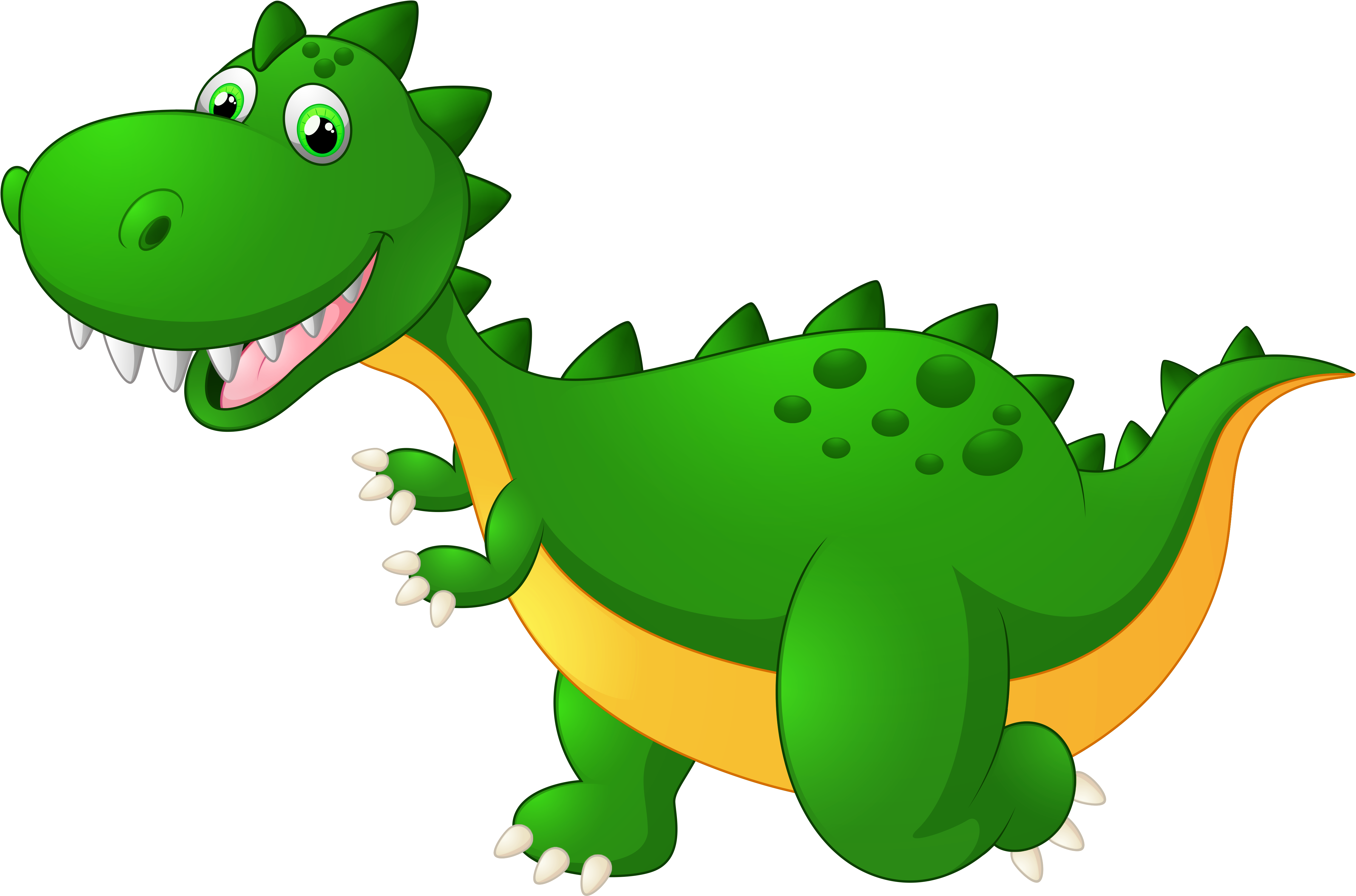 Cute Dinosaur Png Graphic Royalty Free Stock - Transparent Background Dinosaur Clipart (5157x3318), Png Download