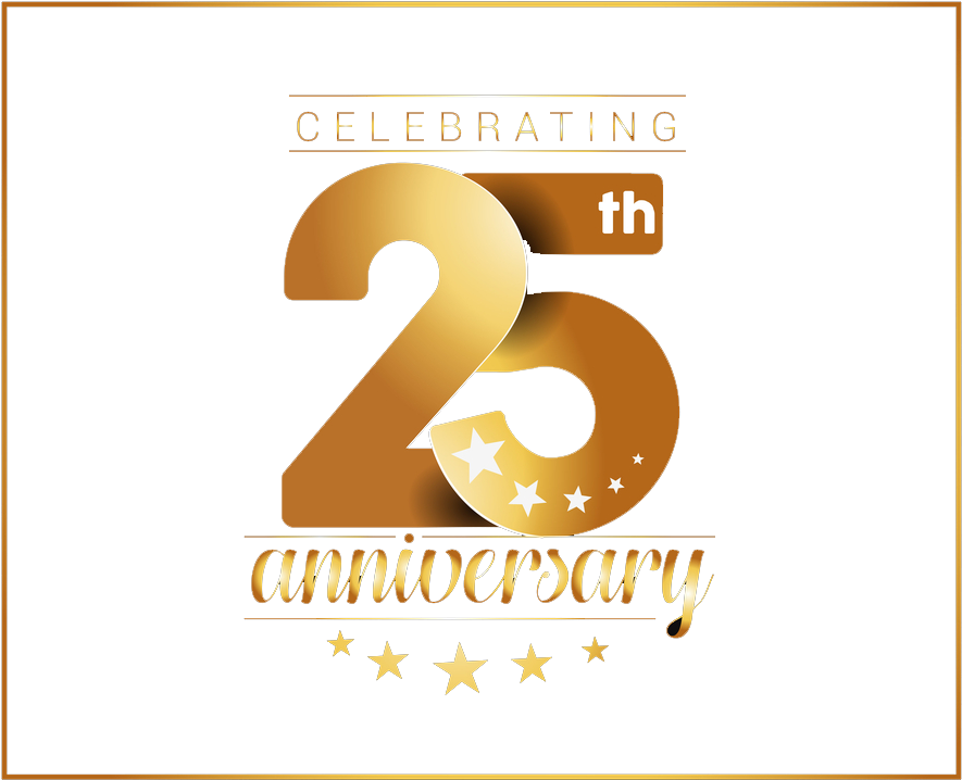 25th anniversary png download th anniversary png image - th year anniversary