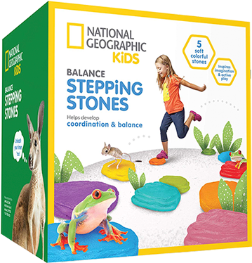 National Geographic Kids Obstacle Course With 5 Balance - National Geographic Kids (600x600), Png Download