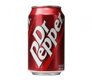 Dr Pepper Can (600x315), Png Download
