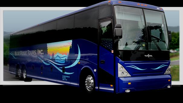 Blue Ridge Tours, Inc - Blue Ridge Tours (605x341), Png Download