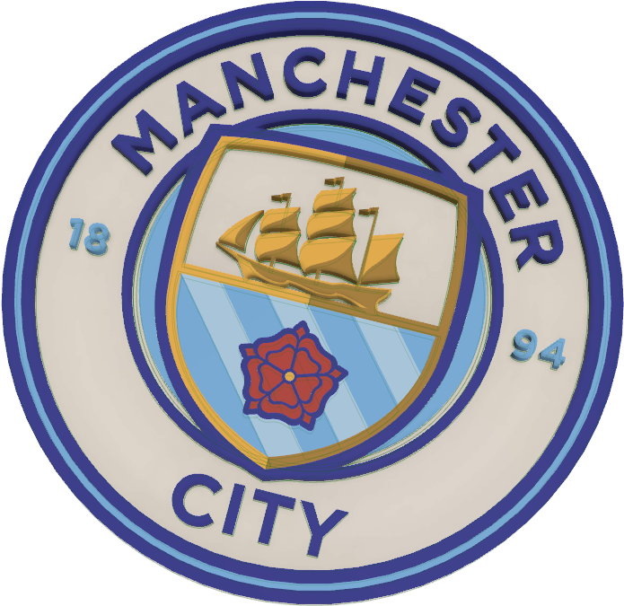 Download Manchester City Logo Multi Color Psg And Man City Png Image With No Background Pngkey Com